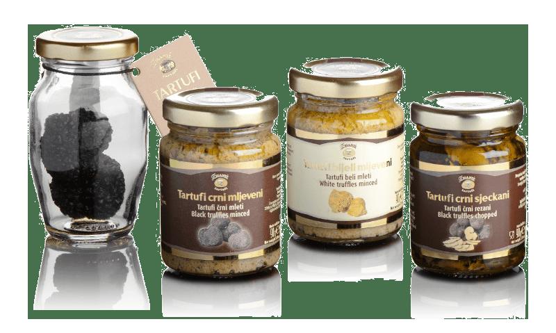 Preserved truffles