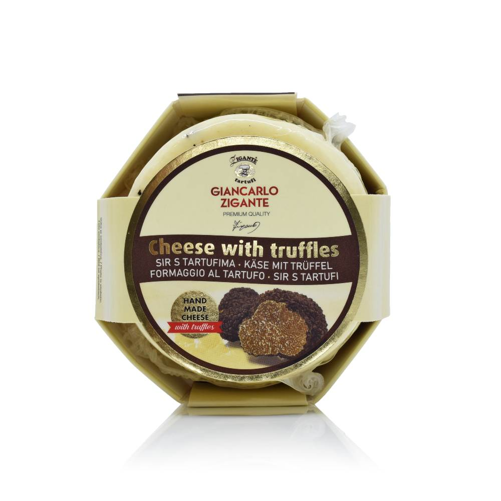 Cheese with truffles