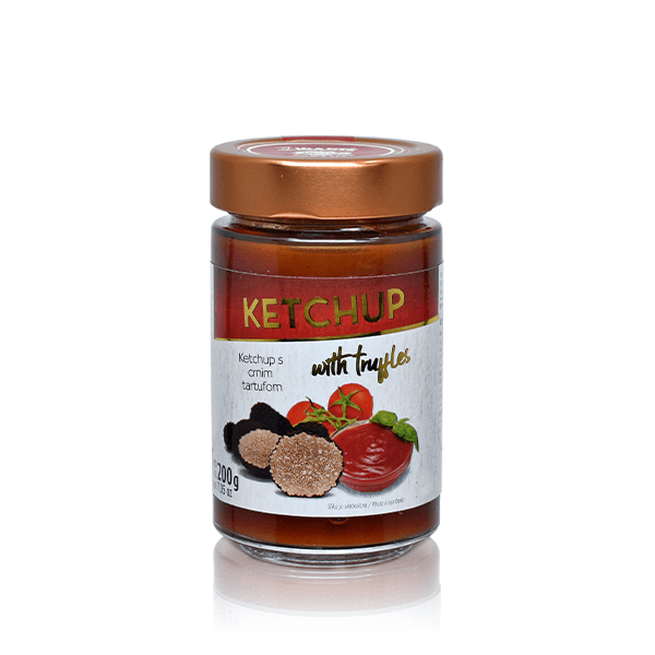 Ketchup with truffles