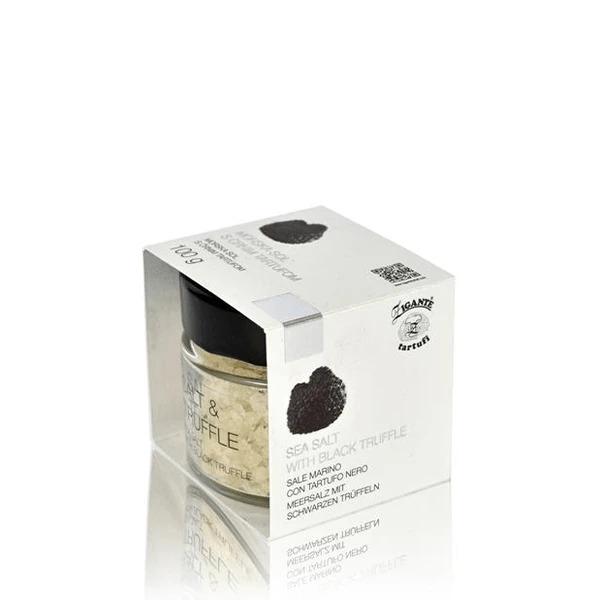 Coarse sea salt with black truffle 100g