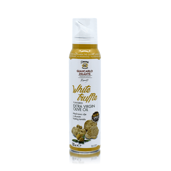 Olive oil with white truffel flavour – spray new!