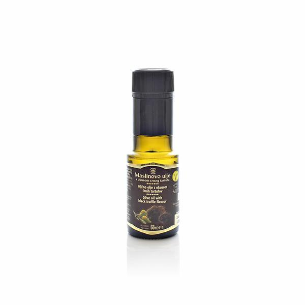 Olive oil with black truffel flavour 60ml