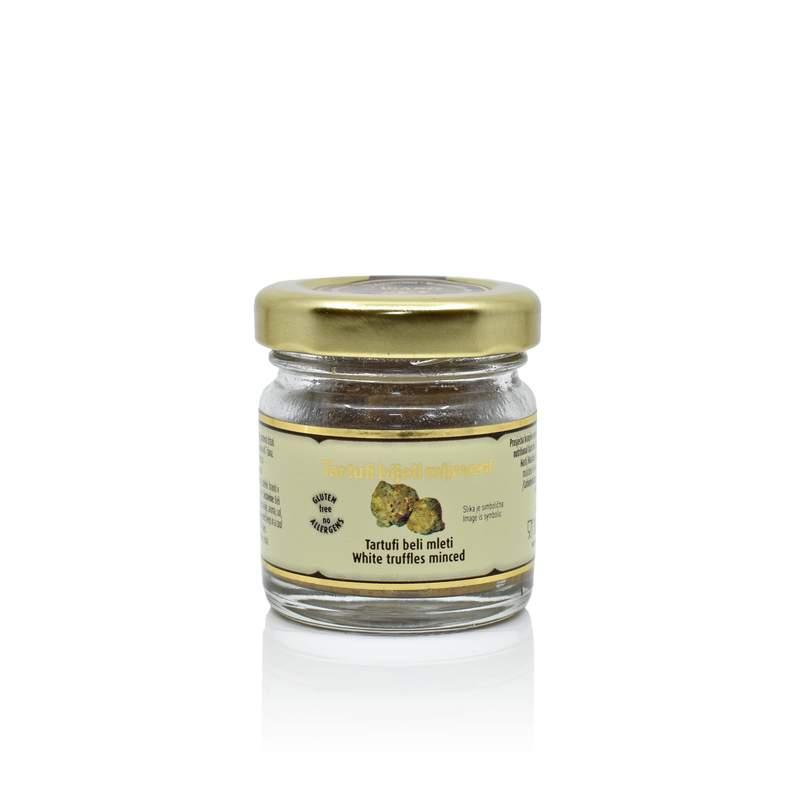 White truffles minced 30g