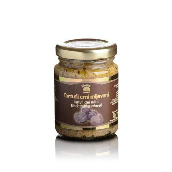 Black truffles minced 90g