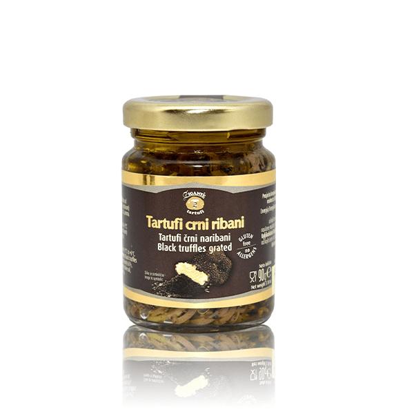 Black truffles grated 90g