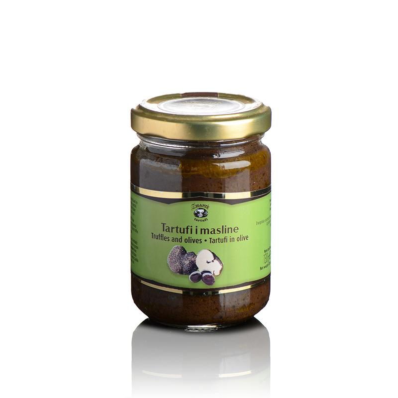Truffles and olives 130g