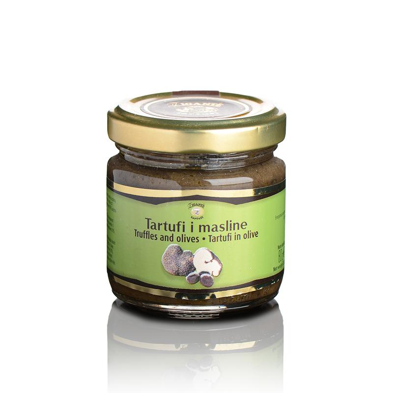 Truffles and olives 80g