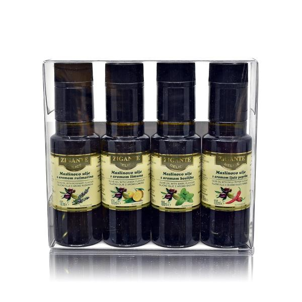 Flavoured oil collection