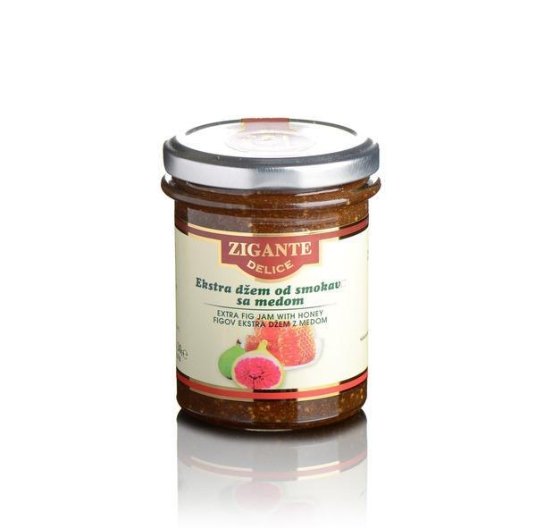 Extra fig jam with honey