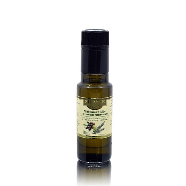 Olive oil with rosemary flavour